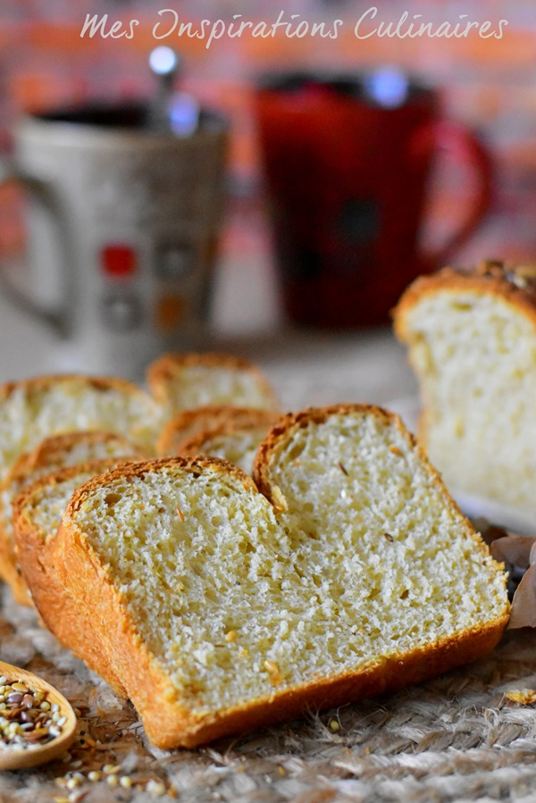 Recette pain de mie Suédois Limpa Bröd