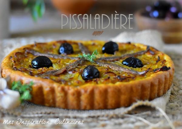 La pissaladière, recette niçoise