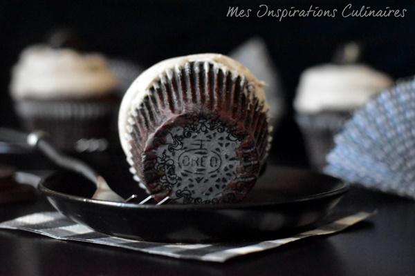 Cupcakes aux Oreo