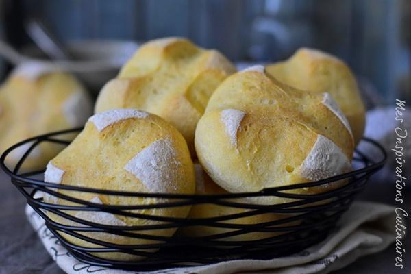 Petits pains à la semoule