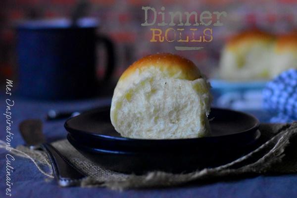 Les Dinner Rolls - petits pains moelleux américains
