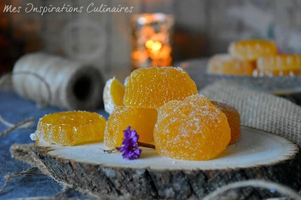 Recette pâte de fruits à la mandarine
