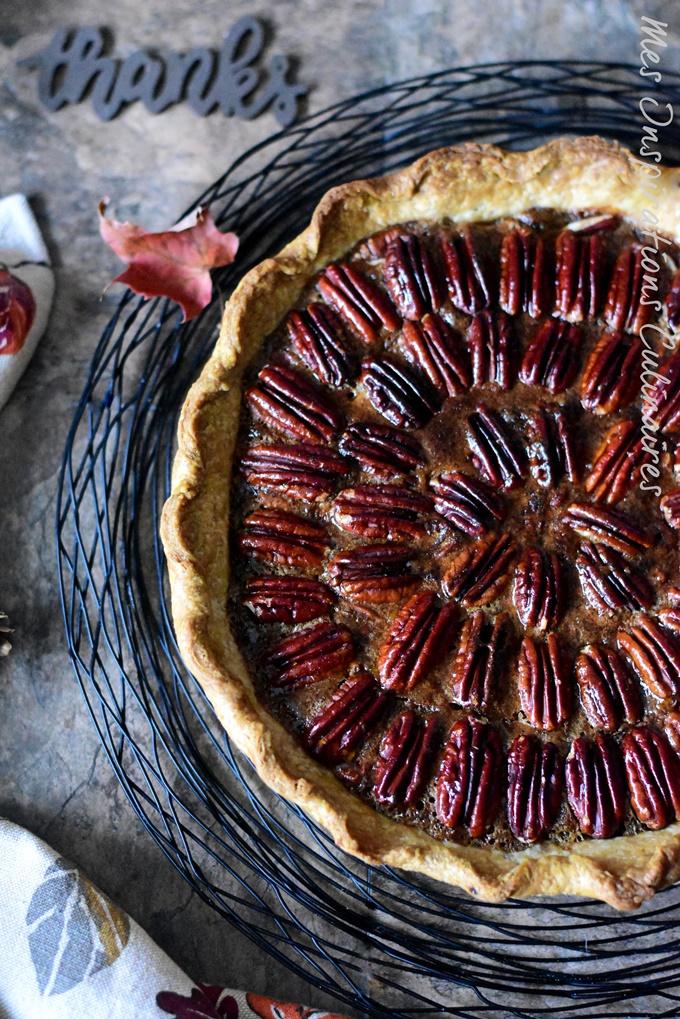 Recette Tarte aux noix de pécan pour Thanksgiving