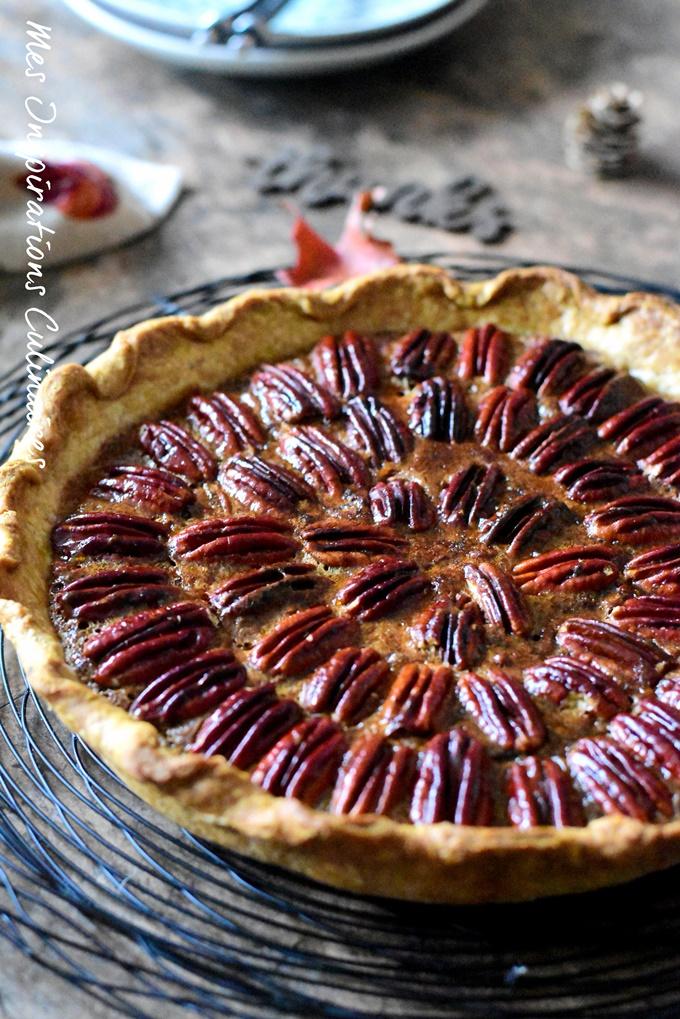 Tarte aux noix de pécan pour Thanksgiving