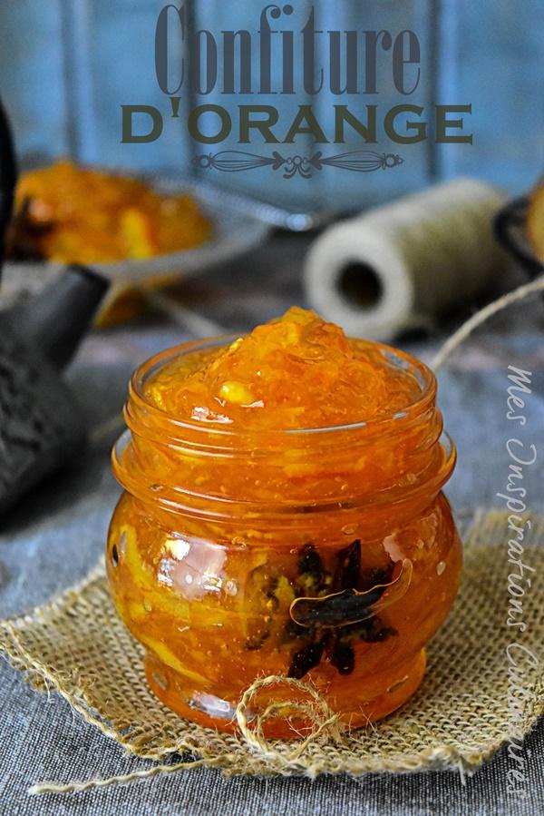 Confiture d'oranges, recette facile