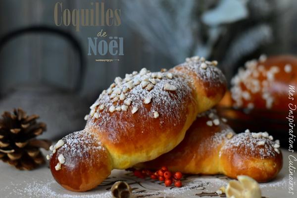 Recette Cougnous, brioche coquille de noël
