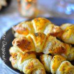 recette petits fours croissant feuilletes