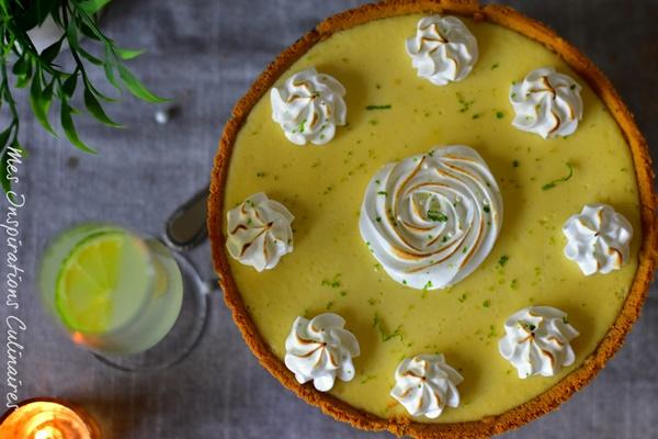 La key lime Pie, Tarte au citron vert de Floride