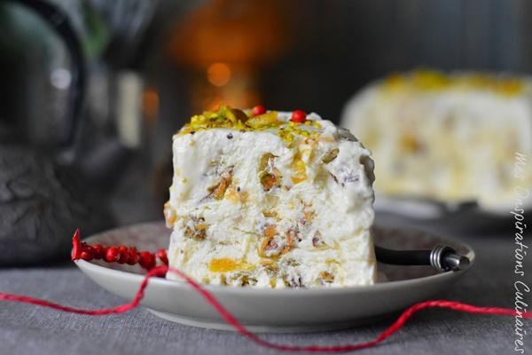 Nougat glac recette facile le blog cuisine de samar - Recette de glace facile ...