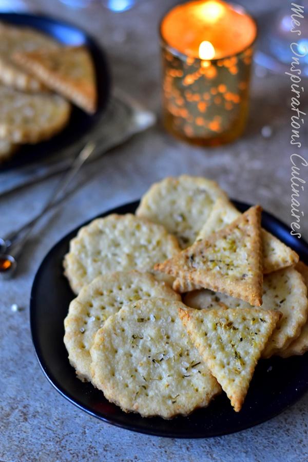 Crackers apéritif maison