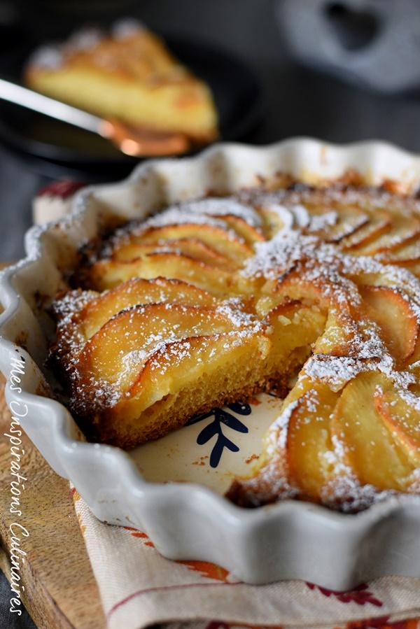 Gâteau aux pommes 5 4 3 2 1