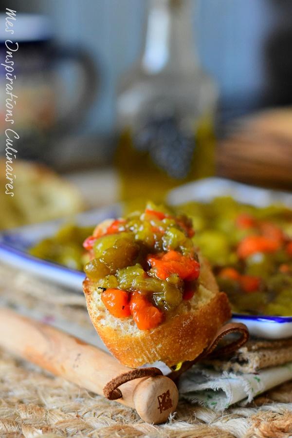 Salade de poivrons Kabyle, Ifelfel szith