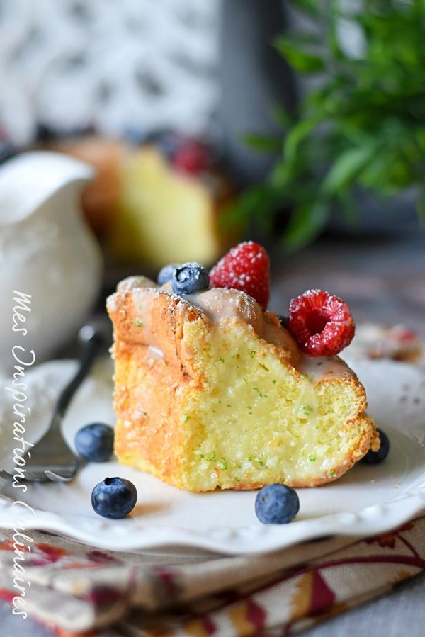 Le chiffon cake, gâteau ultra moelleux au citron vert