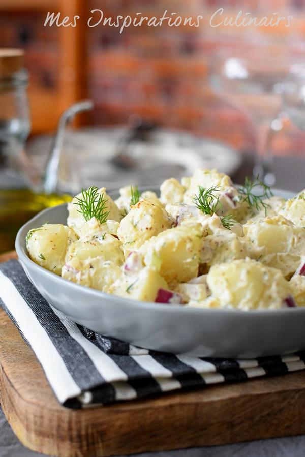 Salade de pomme de terre traditionnelle am ricaine le - Recette traditionnelle cuisine americaine ...