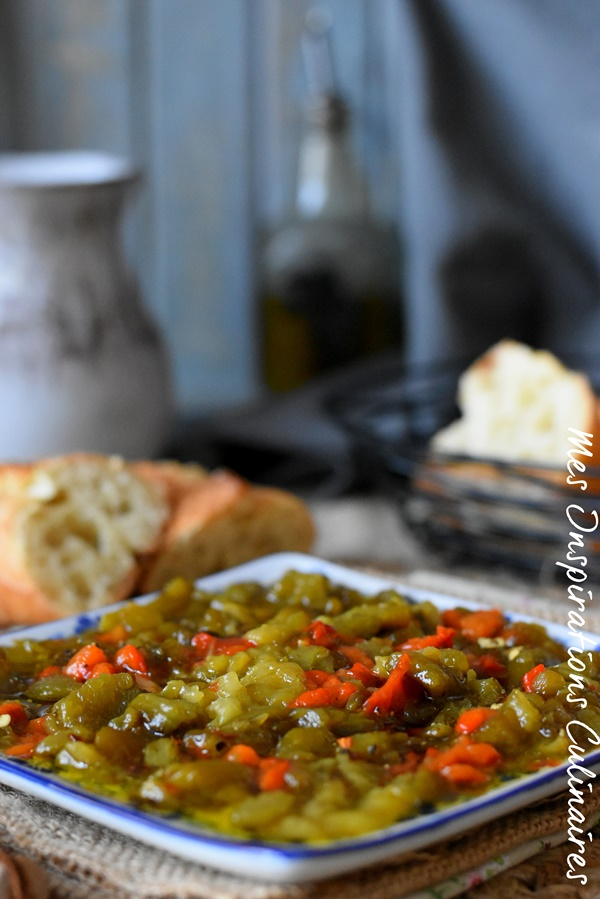 Salade de poivrons Kabyle, Ifelfel s'zith
