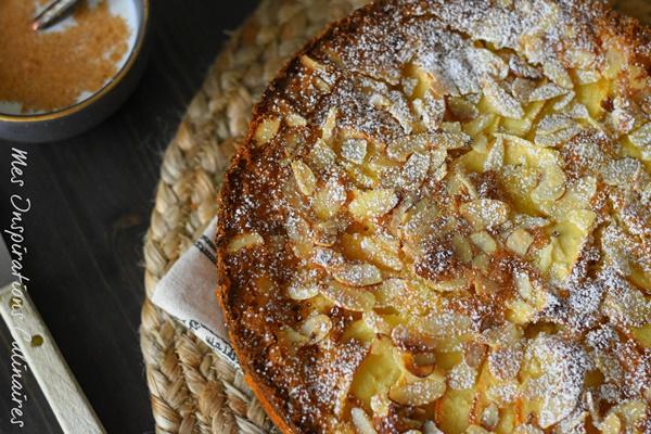 Recette Gâteau d'Ève aux pommes et aux amandes