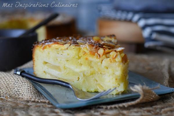 Recette Gâteau d'Ève aux pommes facile