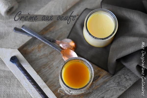 La crème aux oeufs à la vanille selon alain Ducas