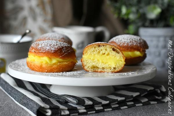 Boules de berlin beignets de carnaval le blog cuisine de samar - Recette boule de berlin moelleuse ...