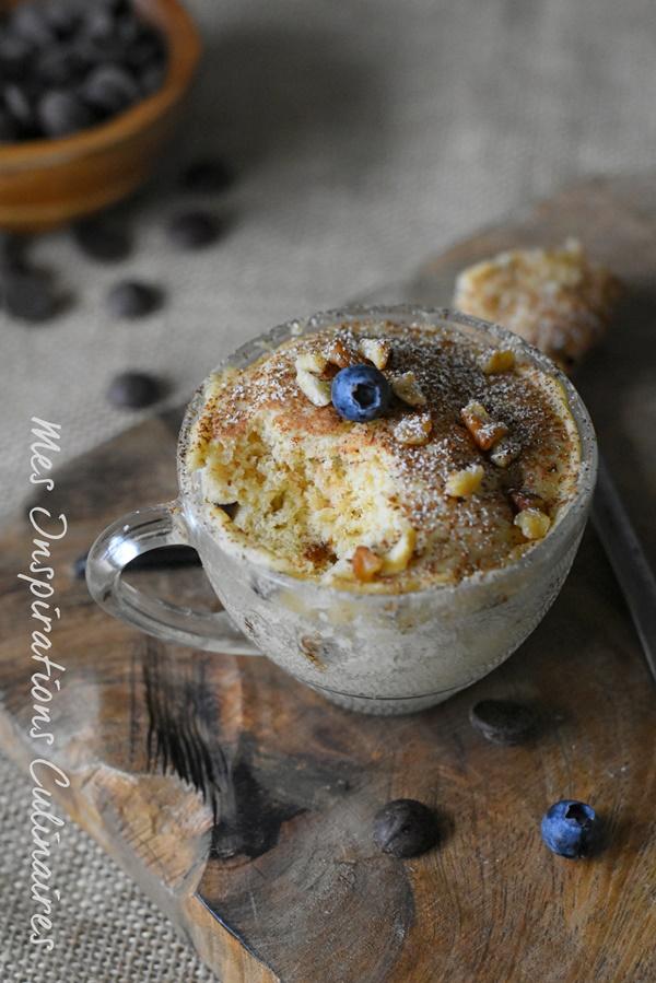 Recette Mug cake recette express au micro onde