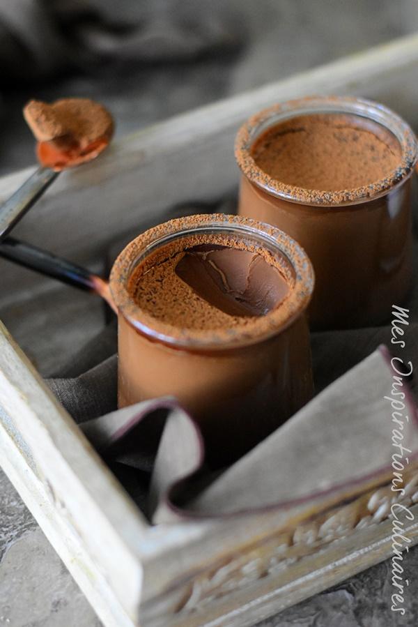 crème au chocolat avec 2 ingredients