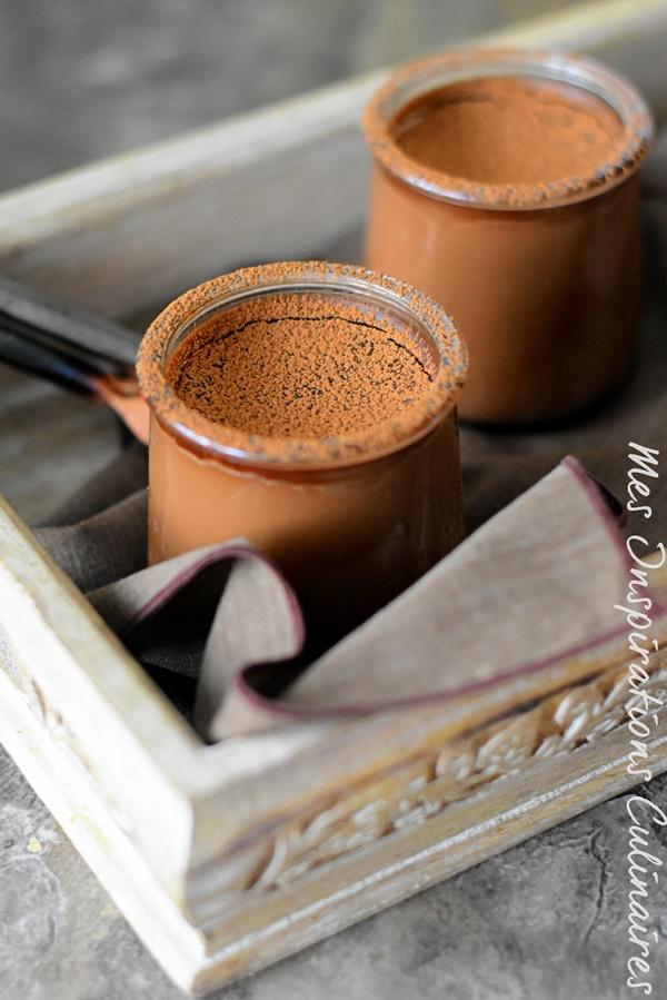 recete de crème dessert au chocolat sans oeufs
