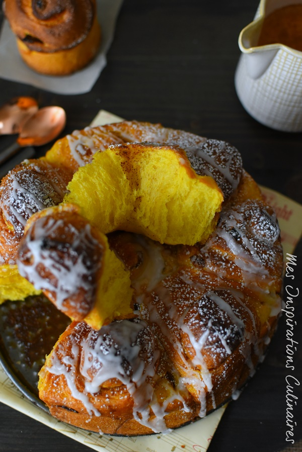 brioche pumpkin cinnamon rolls