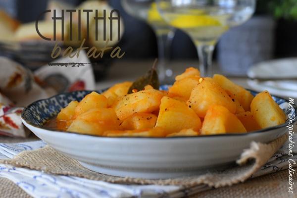 recette Chtitha Batata de la cuisine algeroise sans viande