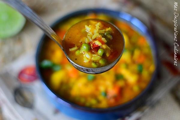 Asopao de pollo, stew de riz au poulet