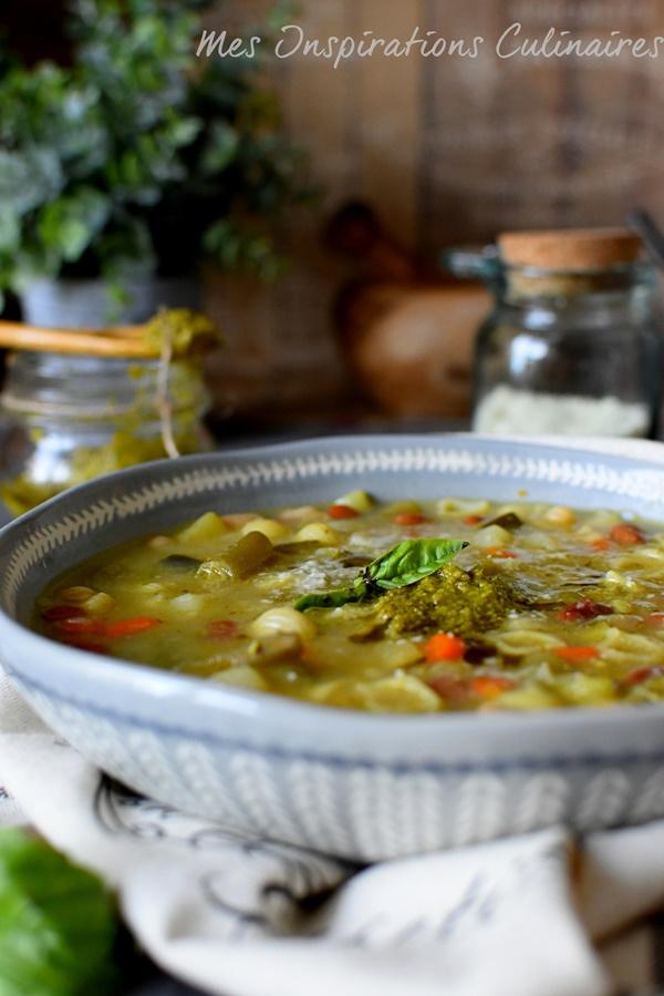 Soupe de pistou maison recette traditionnelle