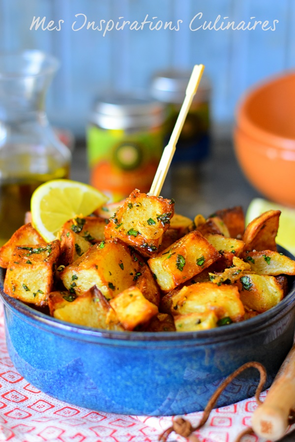 Pommes de terre épicées libanaise, batata harra