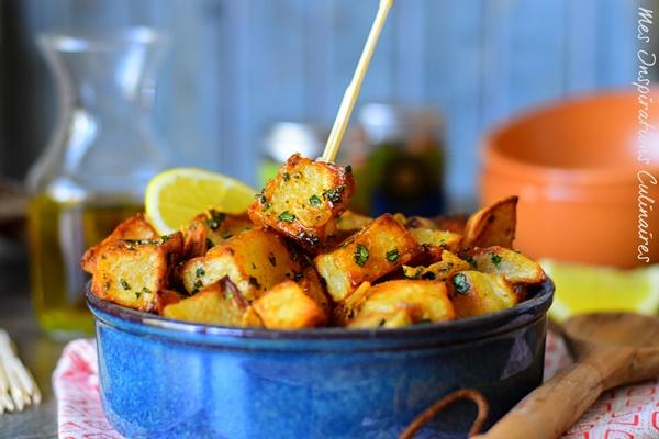 Batata Harra : Pommes de terre épicées libanaise