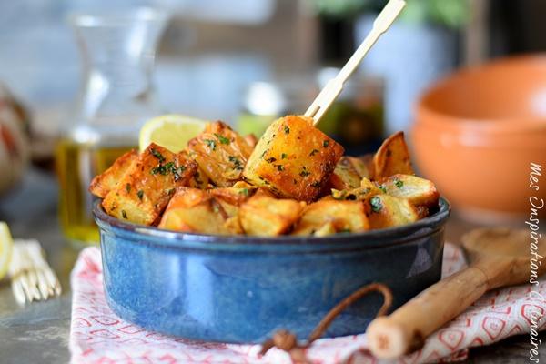 recette batata harra mezze libanais
