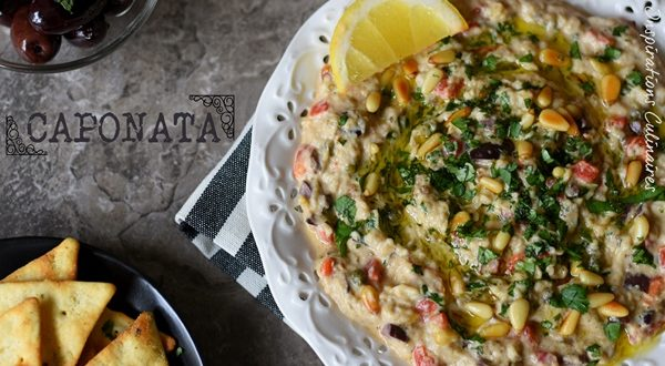 Recette caponata olives vertes et c pres le blog - Blog cuisine sicilienne ...