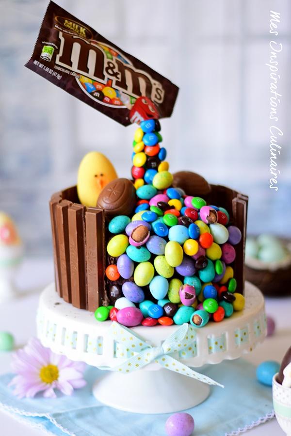 Recette gravity cake, gâteau au chocolat pour pâques