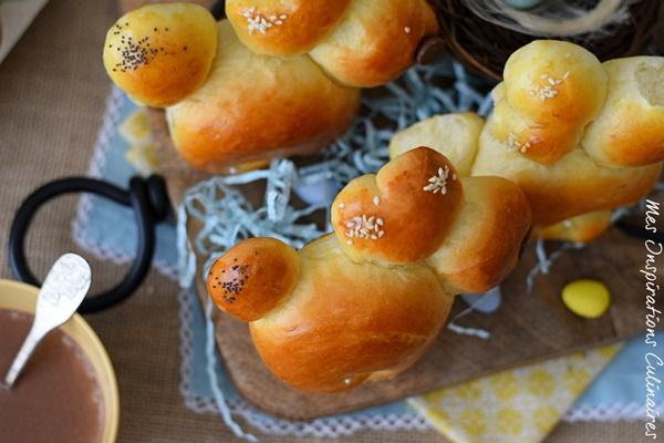 Recette Brioches lapin de Pâques