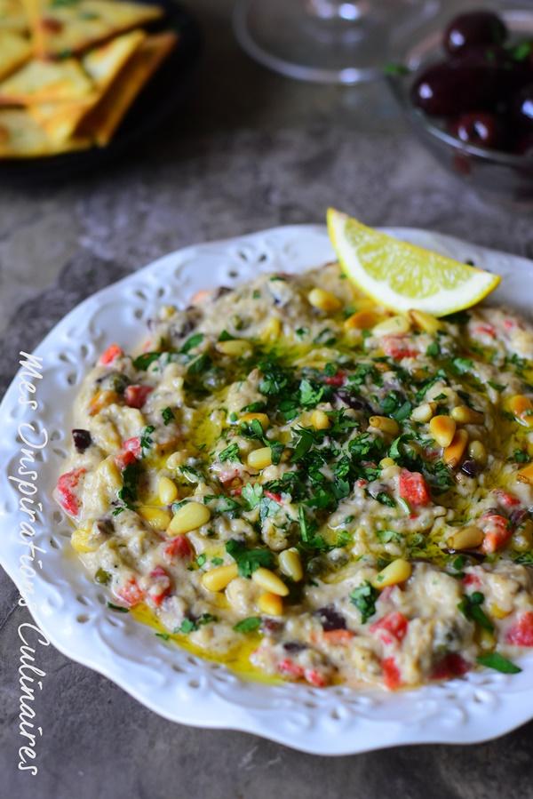 Recette Caponata sicilienne aux legumes olives vertes et câpres