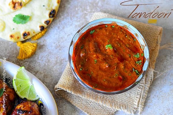 Marinade de poulet tandoori