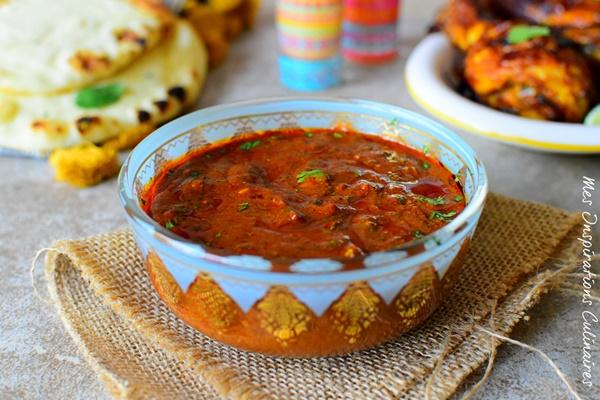 Recette de Marinade de poulet tandoori