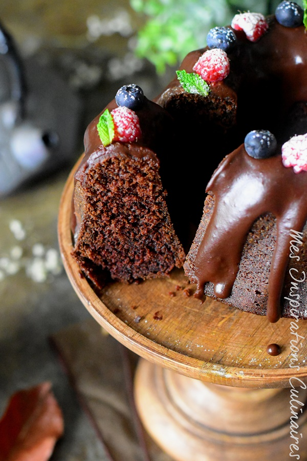 bundt cake au chocolat moelleux