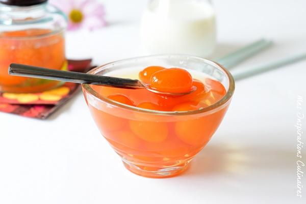 Kumquats confits fait maison