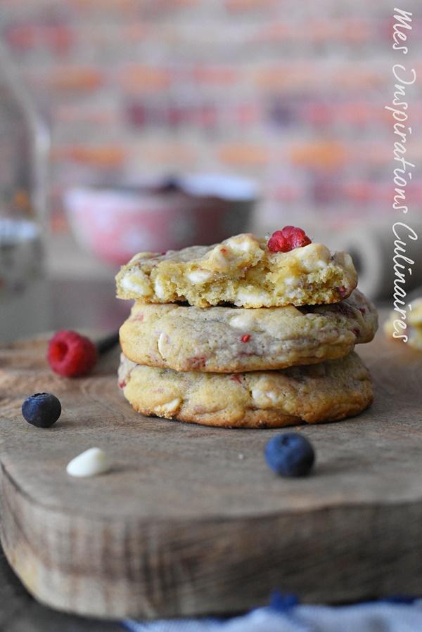 Recette Cookies au chocolat blanc facile
