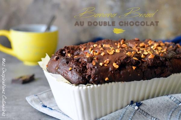 le Banana bread double chocolat moelleux