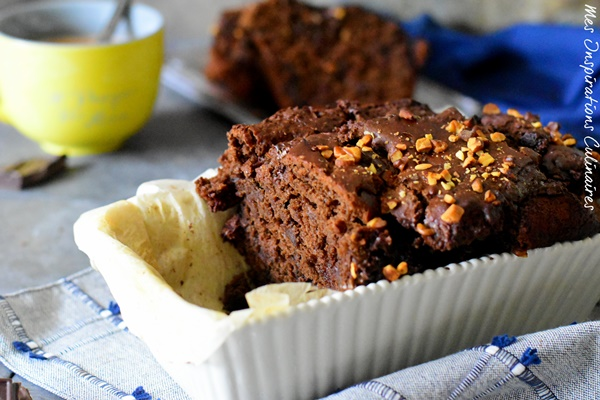 le Banana bread double chocolat ultra moelleux
