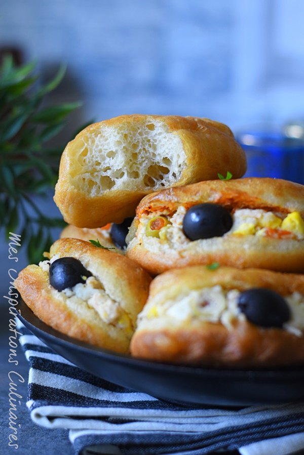 Fricassés Tunisiens (recette sans oeuf)