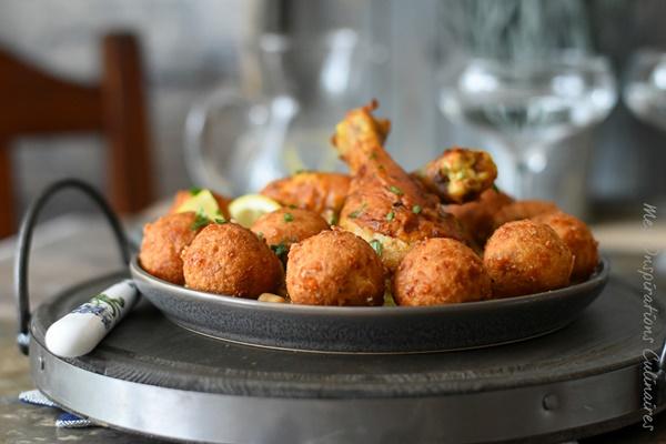 Sfiriya algerienne croquette de pain et fromage