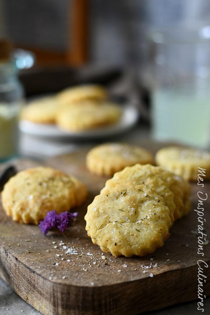 Sablés au parmesan, biscuit apéritif maison