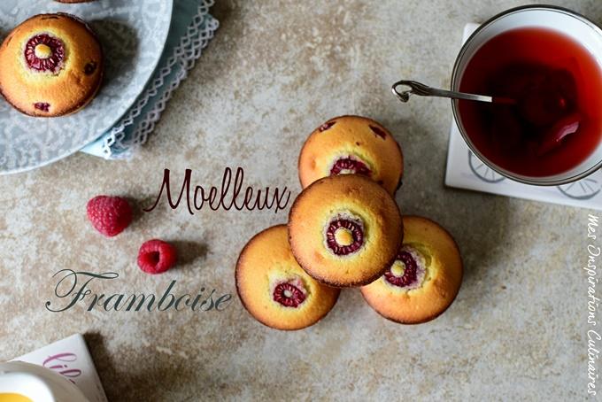 Gâteau moelleux aux framboises fraiches recette facile