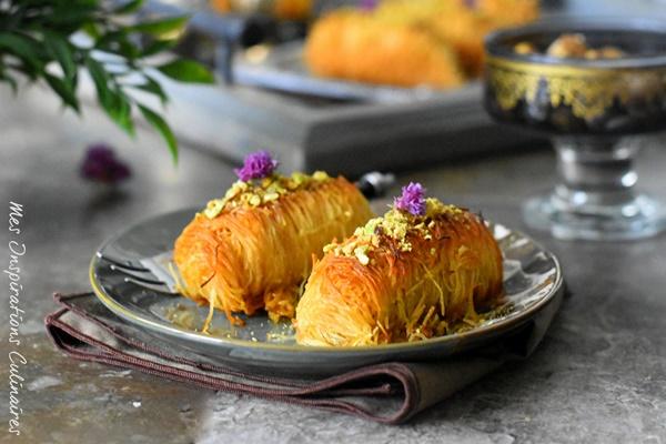 Konafa libanais au fromage ricotta
