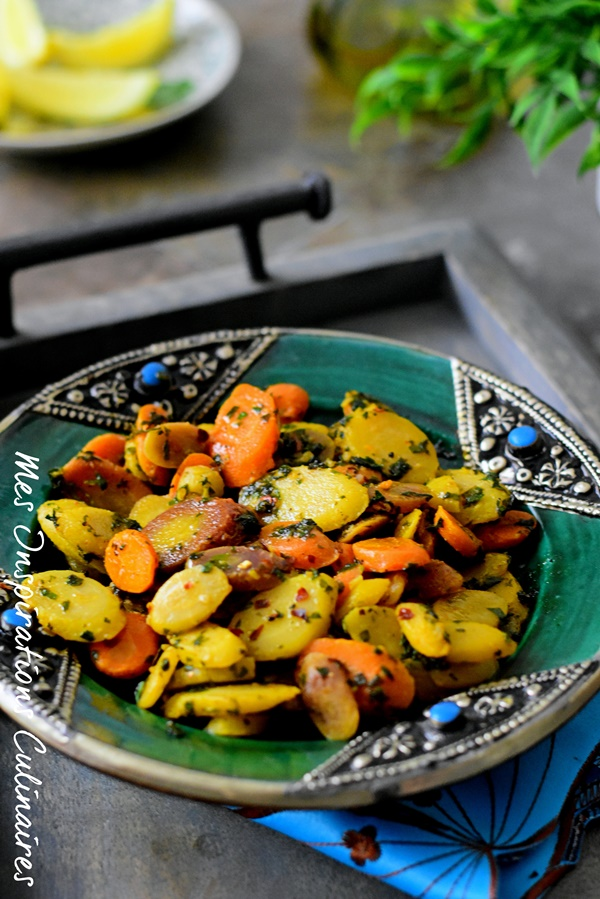 recette de carottes a la poêle